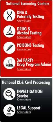 Vertical Menu for poison testing