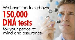 dna testing peace of mind